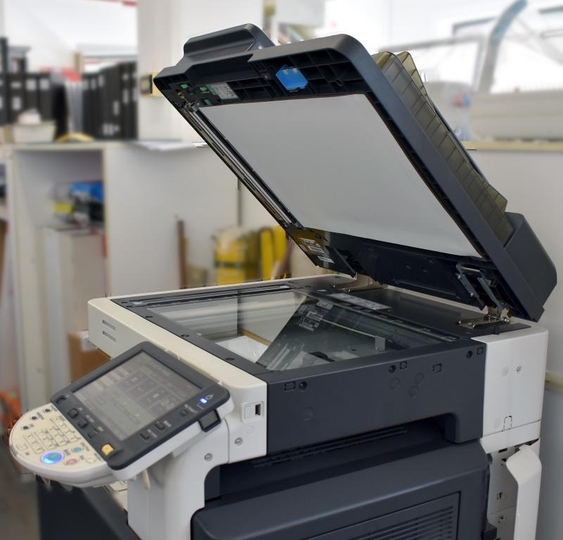 fotocopiatrice per stampa