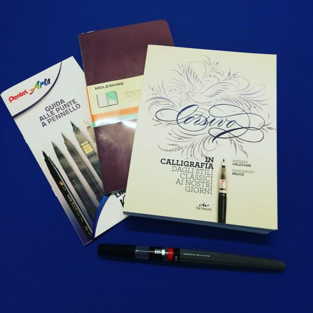 kit calligrafia content